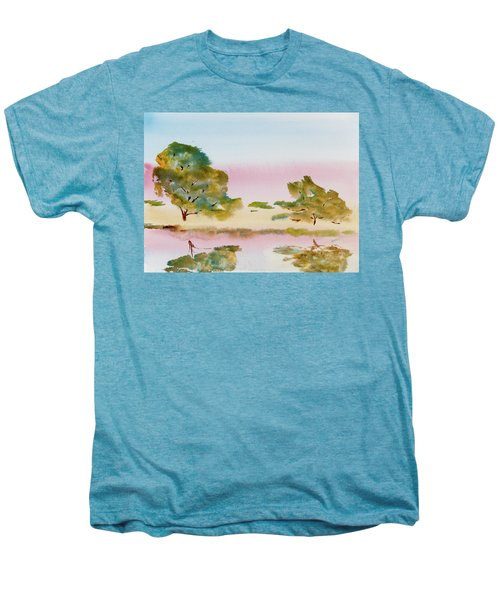 Reflections At Sunrise Men's Premium T-Shirt