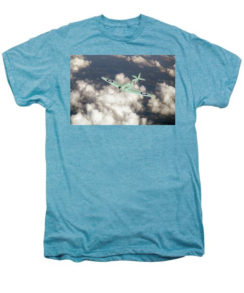 Men's Premium T-Shirt featuring the photograph Supermarine Spitfire Prototype K5054 by Gary Eason