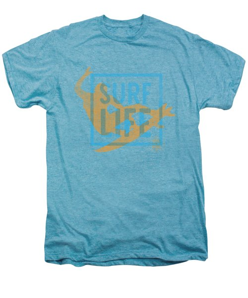 Surf Life 1 Men's Premium T-Shirt by SoCal Brand