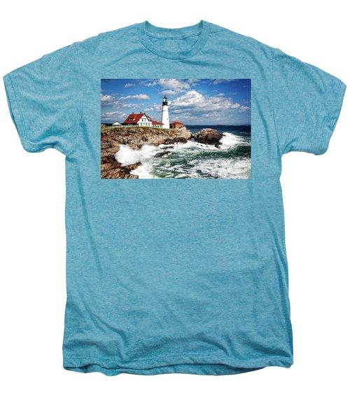 Surf Meets Land Men's Premium T-Shirt
