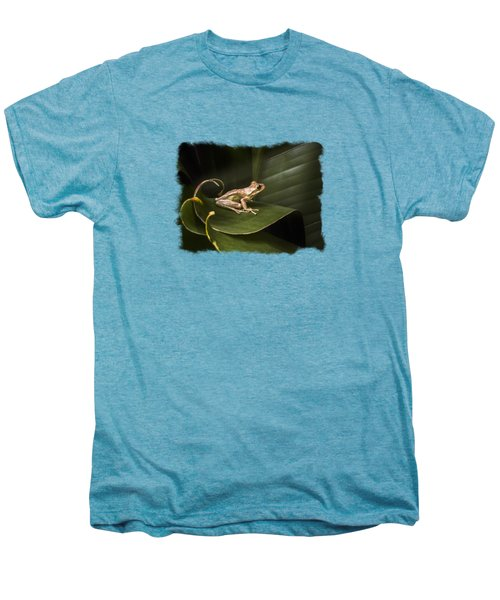 Surfing The Wave Bordered Men's Premium T-Shirt