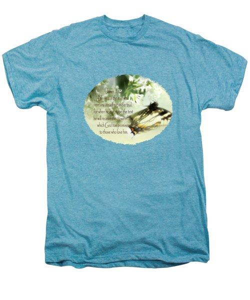 Swallowtail And Lilac Men's Premium T-Shirt