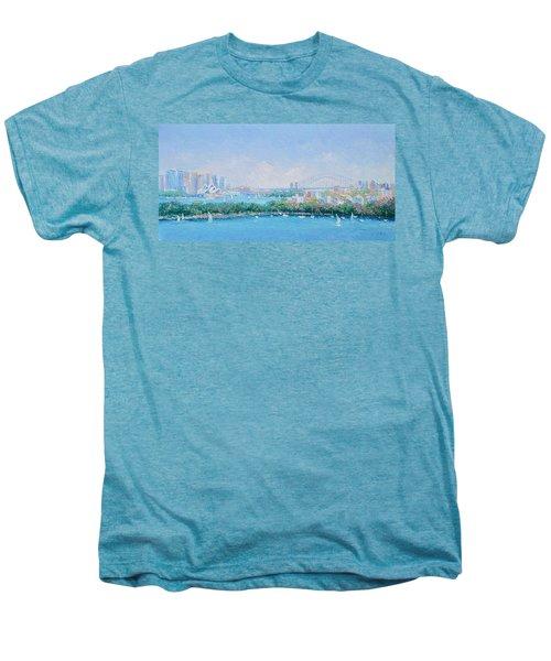 Sydney Harbour Bridge - Sydney Opera House - Sydney Harbour Men's Premium T-Shirt