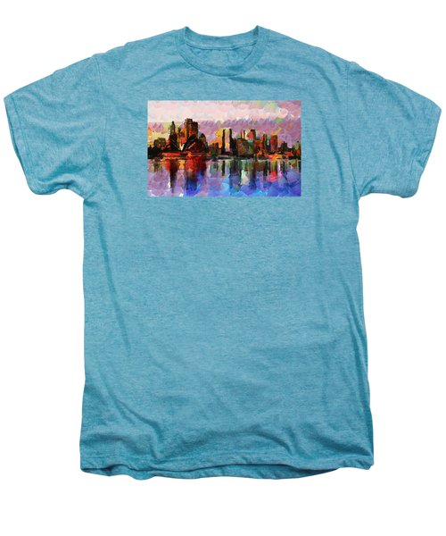 Sydney Here I Come Men's Premium T-Shirt by Sir Josef - Social Critic - ART