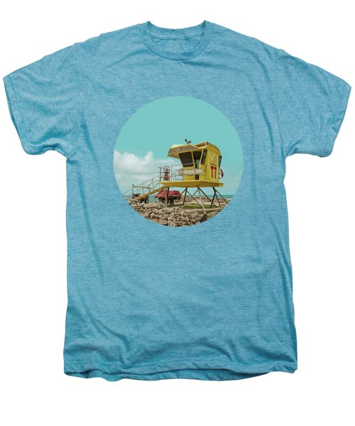 T7 Lifeguard Station Kapukaulua Beach Paia Maui Hawaii Men's Premium T-Shirt