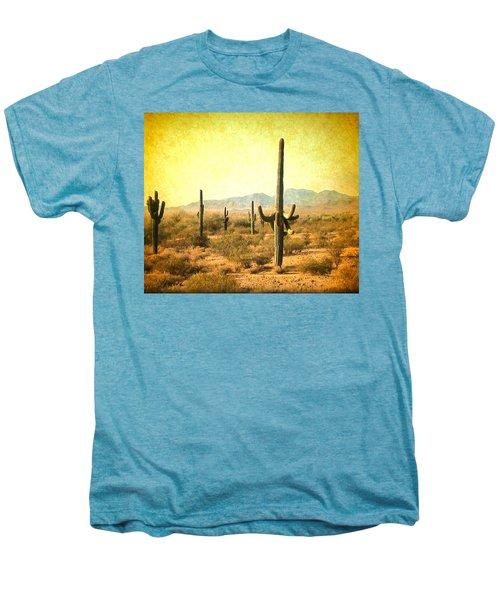 Table Moumtain Vintage Western Men's Premium T-Shirt