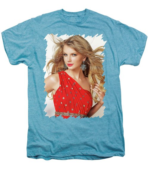 Taylor Swift Men's Premium T-Shirt by Twinkle Mehta
