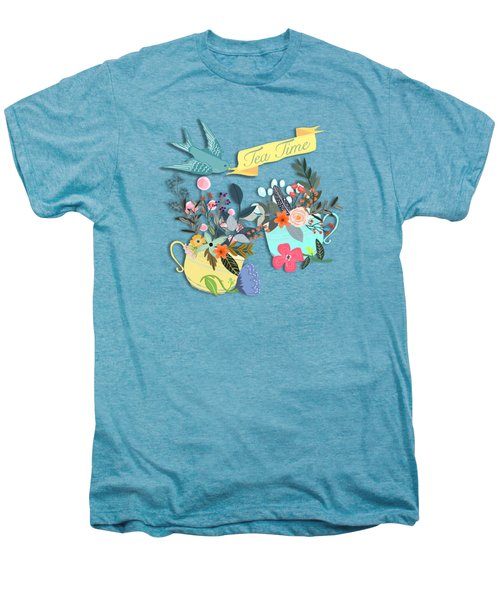 Tea For Two Men's Premium T-Shirt