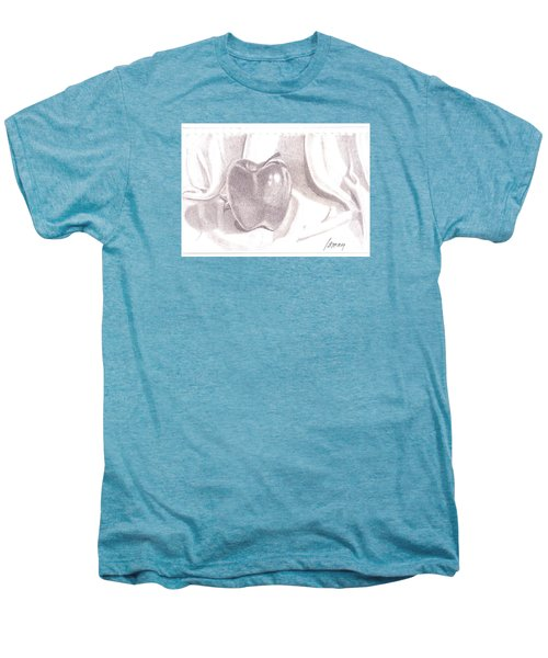 Men's Premium T-Shirt featuring the drawing Teacher's Pet by Rod Ismay