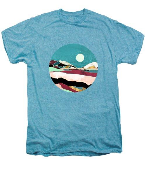 Teal Sky Men's Premium T-Shirt