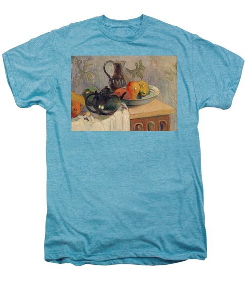 Teiera Brocca E Frutta Men's Premium T-Shirt by Paul Gauguin