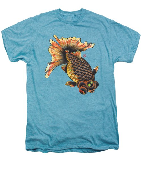 Telescope Goldfish Men's Premium T-Shirt by Shih Chang Yang