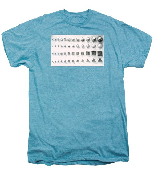 Template Men's Premium T-Shirt by James Lanigan Thompson MFA