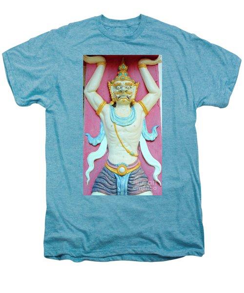 Temple Art In Thailand Men's Premium T-Shirt