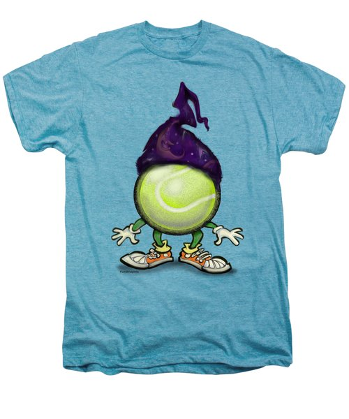 Tennis Wiz Men's Premium T-Shirt by Kevin Middleton