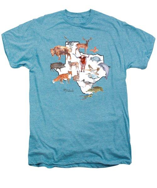 Texas Animals Men's Premium T-Shirt