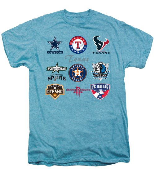 Texas Professional Sport Teams Men's Premium T-Shirt