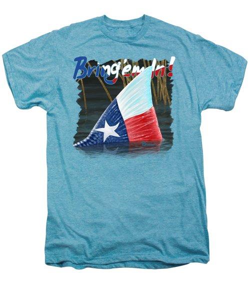 Texas Tails Men's Premium T-Shirt by Kevin Putman
