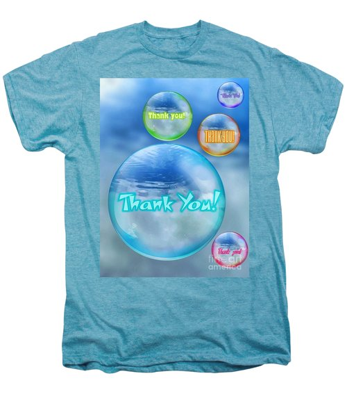 Thank You Bubbles Men's Premium T-Shirt