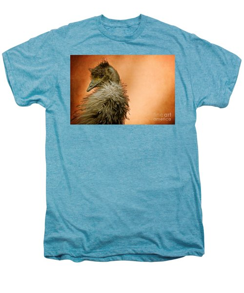 That Shy Come-hither Stare Men's Premium T-Shirt by Lois Bryan