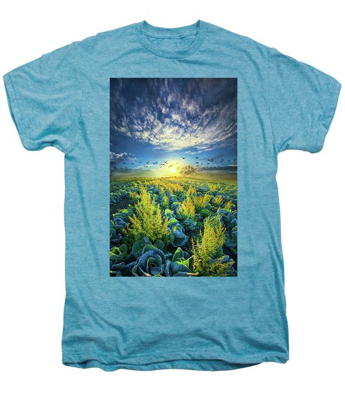 That Voices Never Shared Men's Premium T-Shirt by Phil Koch