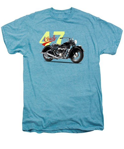 The 1947 Chief Men's Premium T-Shirt by Mark Rogan