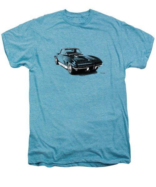 The 66 Vette Men's Premium T-Shirt by Mark Rogan