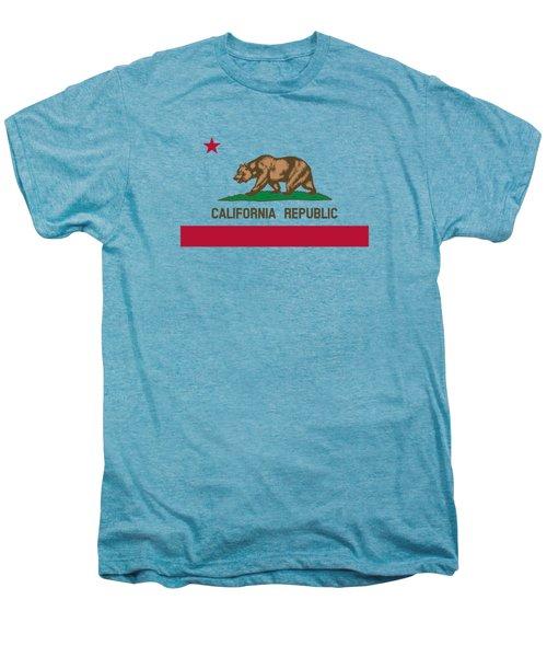 The Bear Flag - State Of California Men's Premium T-Shirt