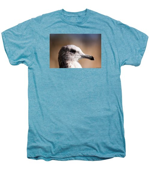 The Best Side Of The Gull Men's Premium T-Shirt by Lora Lee Chapman