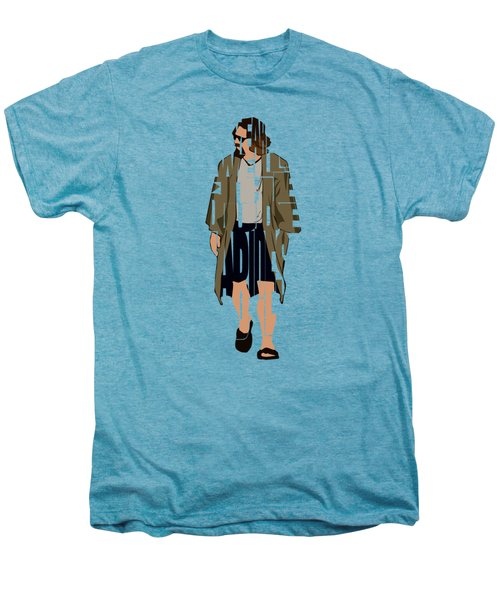 The Big Lebowski Inspired The Dude Typography Artwork Men's Premium T-Shirt