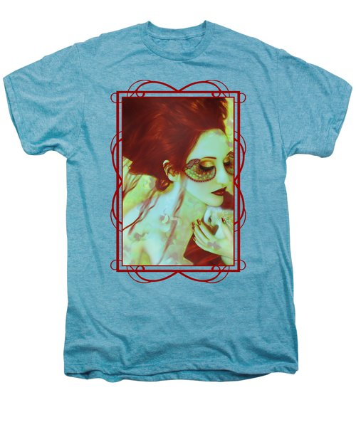 The Bleeding Dream - Self Portrait Men's Premium T-Shirt by Jaeda DeWalt