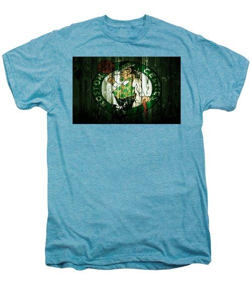The Boston Celtics 5d Men's Premium T-Shirt by Brian Reaves