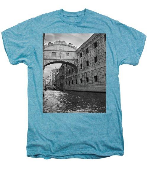 The Bridge Of Sighs, Venice, Italy Men's Premium T-Shirt by Richard Goodrich
