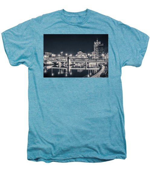 Men's Premium T-Shirt featuring the photograph The Bright Dark Of Night by Bill Pevlor