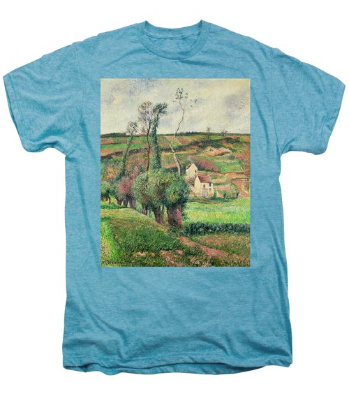 The Cabbage Slopes Men's Premium T-Shirt by Camille Pissarro