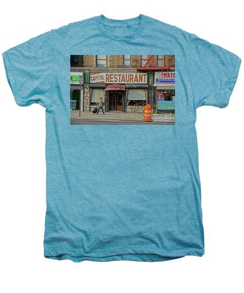 The Capitol Men's Premium T-Shirt by Cole Thompson