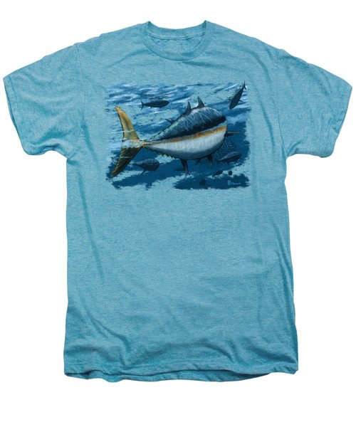 The Chase Men's Premium T-Shirt by Kevin Putman