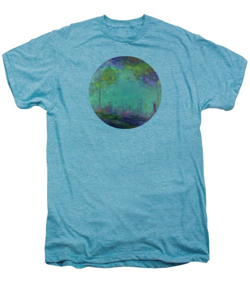 The City In The Distance Men's Premium T-Shirt by Mary Wolf