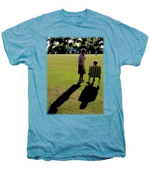The Cricket Match Men's Premium T-Shirt