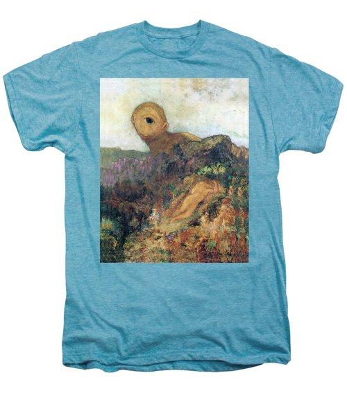 The Cyclops Men's Premium T-Shirt by Odilon Redon