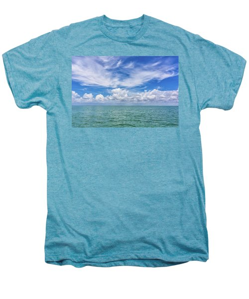 The Dance Of Clouds On The Sea Men's Premium T-Shirt