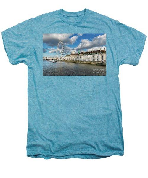 The Eye London Men's Premium T-Shirt by Adrian Evans