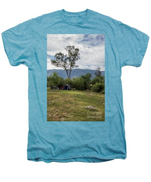 Men's Premium T-Shirt featuring the photograph The Good Life by Linda Lees