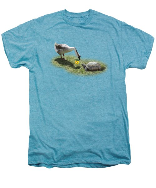The Goose And The Turtle Men's Premium T-Shirt by Gravityx9   Designs