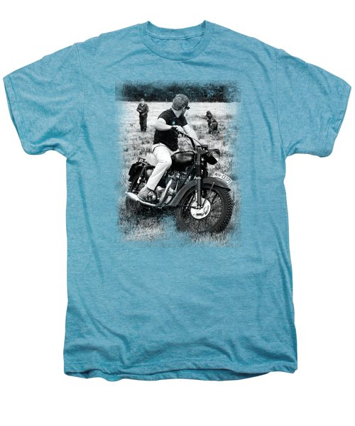 The Great Escape Men's Premium T-Shirt by Mark Rogan
