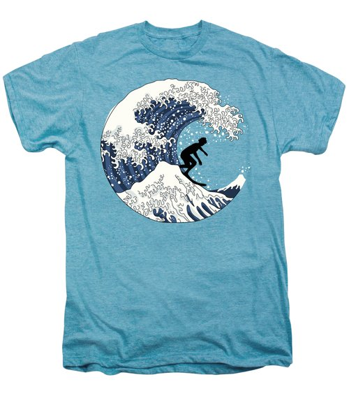 The Great Surfer Off Kanagawa Men's Premium T-Shirt