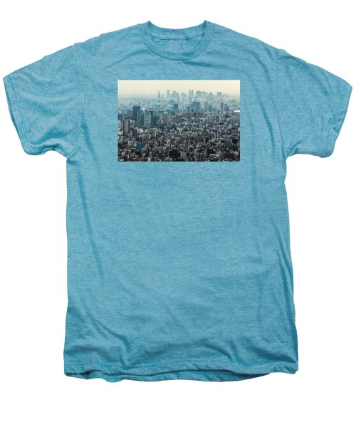 The Great Tokyo Men's Premium T-Shirt by Peteris Vaivars