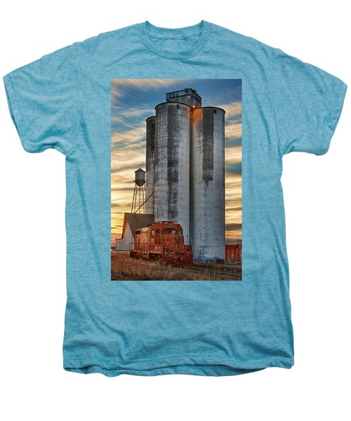 The Great Western Sugar Mill Longmont Colorado Men's Premium T-Shirt
