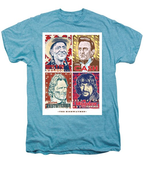 The Highwaymen Men's Premium T-Shirt by Jim Zahniser