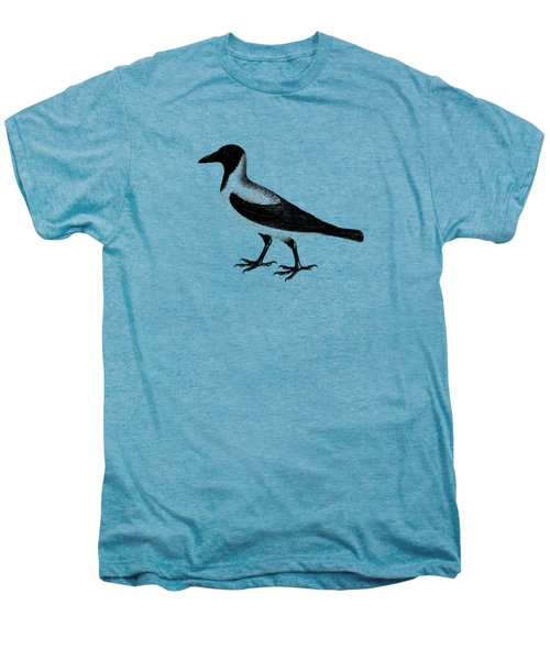 The Hooded Crow Men's Premium T-Shirt by Mark Rogan